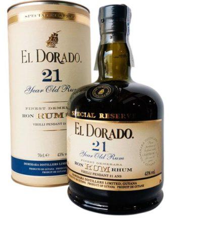 El Dorado 21 Jahre Angebot