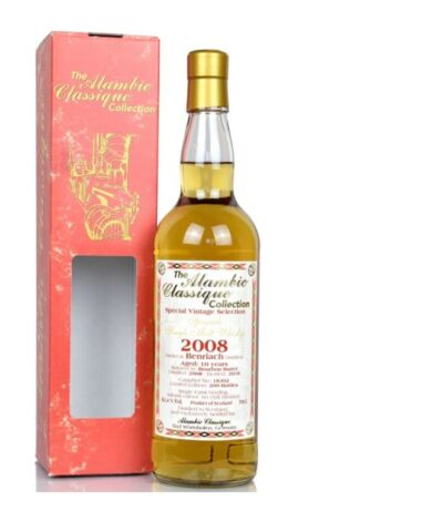 Benriach 10 year old 2008 2018 Alambic Classique
