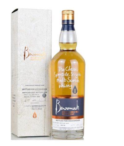 Benromach 12 Year Old 1st Fill Bourbon Cask bottled for Hocksheads