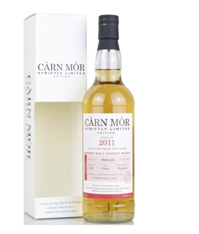 Burnside 8 Year Old 2011 2020 Carn Mor Strictly Limited Edition Whisky