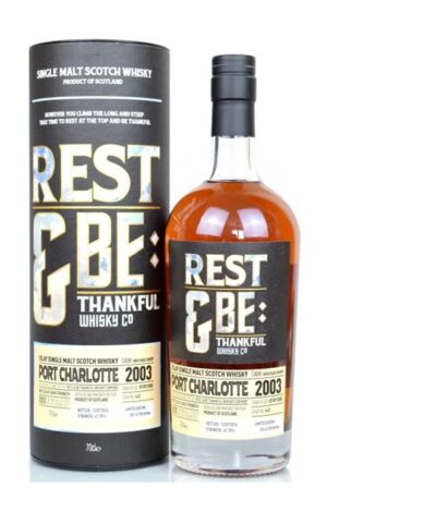Port Charlotte 13 year old Sherry Cask Rest be Thankful