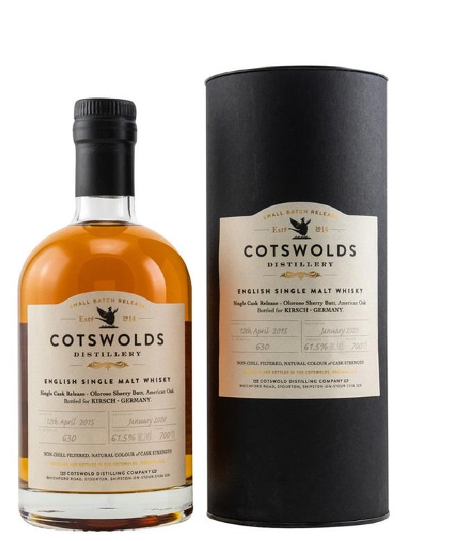 Cotswolds 2015 2020 Single Oloroso Sherry Butt